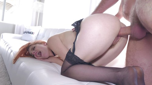 Bang! (Gonzo) - Redhead Amarna Miller Gets All Her Holes Stuffed Gonzo Style (1080p)