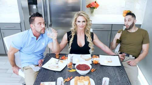 Family Strokes: Phoenix Marie - Army Boy Meets Busty Stepmom For Thanksgiving (1080p)