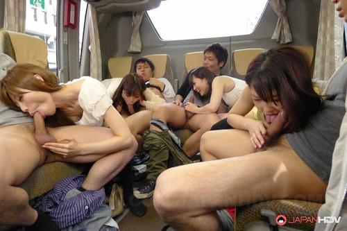 JapanHDV: Chiharu, Hikaru Ayami, Mitsuka Koizumi, Mitsuki - Holidays Fuck Tour (1080p)