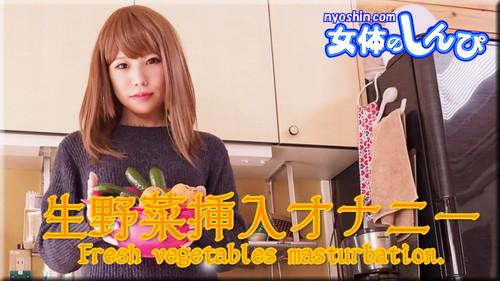 女体のしんぴ n1658 あんな / 生野菜挿入オナニー