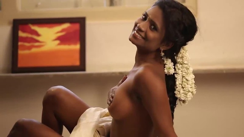 Shaved Brunette Indian Babe India With Pretty Face