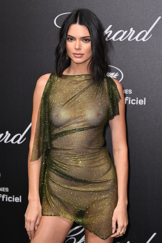 Kendall Jenner at the Chopard Party during the 71st Cannes Film Festival