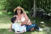 MommyGotBoobs - Candi Kayne - A View of the English Cuntryside 07-19