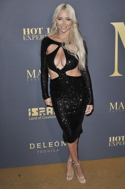 Lindsey Pelas at the MAXIM Hot 100 Experience held at the Hollywood Palladium