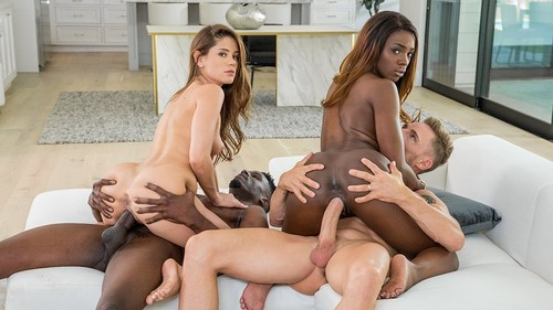 Vixen: Little Caprice, Ana Foxxx - A Long Time Coming (1080p)